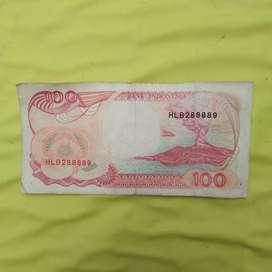 UANG KUNO 100 Rupiah (1992)