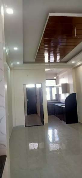 SEMI FURNISHED 3 BHK FLAT FOR SALE AT 33 LACS