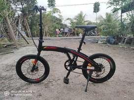 Sepeda Lipat Exotic 2026MG MuLus 3 BuLan Pakai