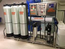 RO mineral water plant 1 ton special