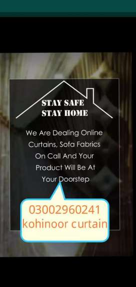We Are Dealing Online Curtains, Sofa Fabric
