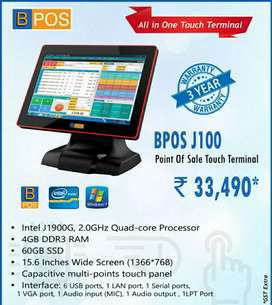 BPOs Touch POs Billing machine available in Lowest cost