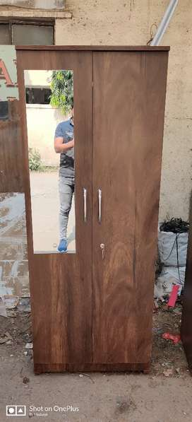 2 door wardrobe available in factory prize