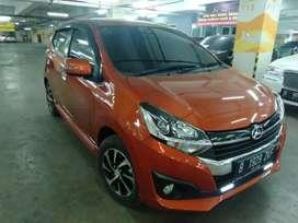 Daihatsu Ayla R AT 2017 orange