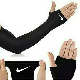 Olahraga pake manset lengan long sleeve gowes liburan anti panas