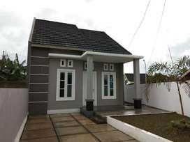 Rumah berangka baja untuk atapnya