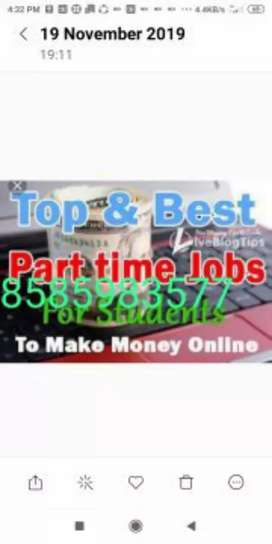 Easy online part time jobs data firmatting