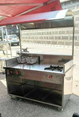 Brand New fast food Stainless steel Counters
