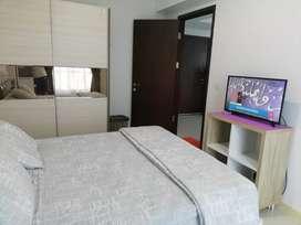 Di sewakan  apartemen mewah 2bd fully furnish Di Borneo bay balikpapan