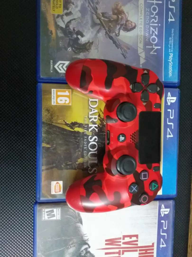 Ps4 controller and dark souls 3 goty