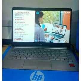 Kredit Aja Gan Laptop HP 14s CF1047TX Proses Nya Sangat Kilat Gan Sist