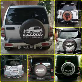Sarung cover ban Rush Terios Escudo Vitara Everest Touring Taruna Jeep