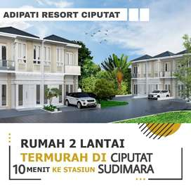 MEWAH MURAH RUMAH 2 LANTAI ADIPATI RESIDENCE CIPUTAT