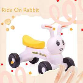 Mainan Playground Anak Motor Motoran Bentuk Kelinci Lucu