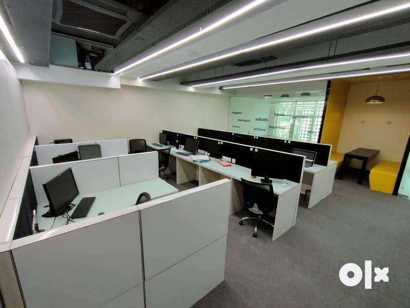 Fully furnished office available for rent in belapur