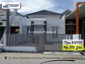 Rumah Komersil Lokasi PU Bandar Lampung