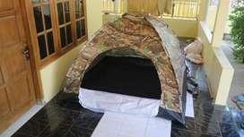 Tenda camping hyu Doreng kapasitas 4-5 orang