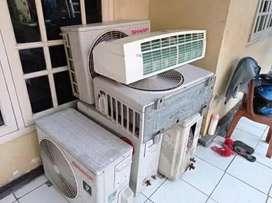Tampung AC rusak