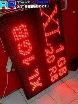 AR Digital Running TEXT Bergaransi 1 Tahun Ready stok