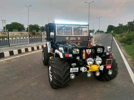 Open Jeep modified all India Transport delivery