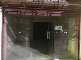 300 sq-ft ground floor shop on rent in B-block indira nagar