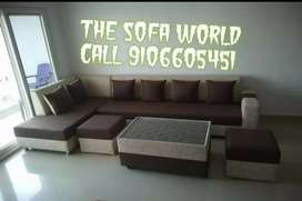 Premium Longer looking sofa with table and puffy