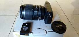 Kamera nikon lensa canon jual 1,3 net