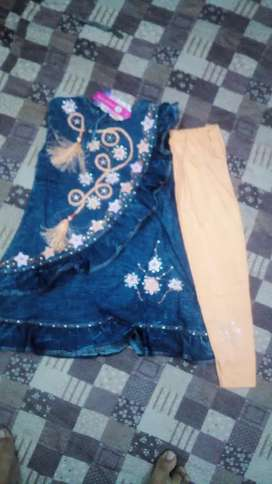 Baby frock size 5 y to 7