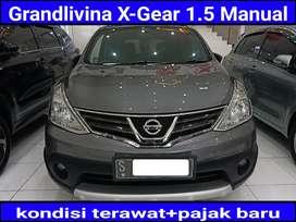 Nissan Grandlivina X-Gear 1.5 MANUAL 2013 pmk 2014 sangat terawat