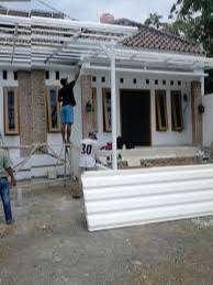 Canopy holo galvanis mantap kuat dan anti karat atap alderon