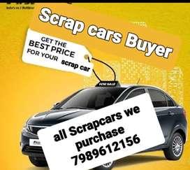 Scrap Car Buyer/We Buy Old/Scrap Cars/Bike