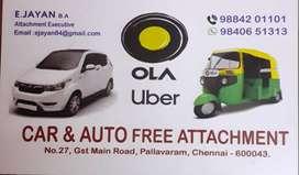 Ola cab auto free attachment