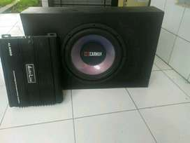 sound system mobil kondisi bagus Nego