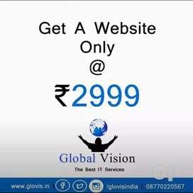 वेबसाइट बनवाए 2999