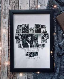 Frame in a4 size