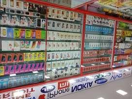 Mobile store inside work