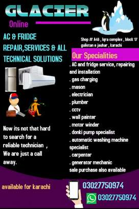 Ac and fridge repair and services