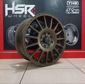Velg Racing HSR ARROW Ring 16 lebar 7 untuk Avansa Xenia Vios Livina