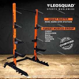 SQUAT MASTER - SQUAT RACK - FOR HOME USE - LEOSQUAD