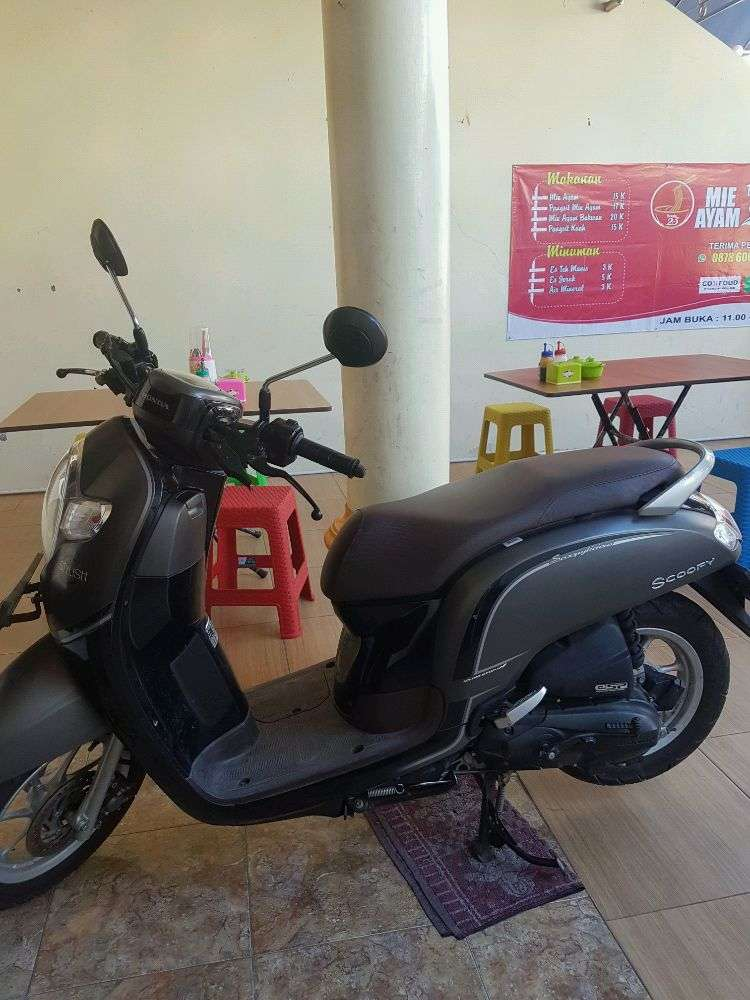 honda scoopy 2017 sporty iss remote 0