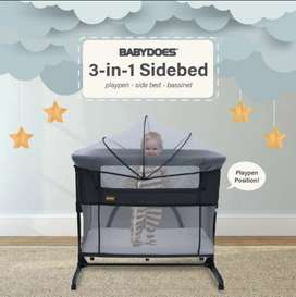 BabyDoes Tempat Tidur Bayi 3 in 1 Side Bed CH-MB169 SN