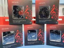 Branded earphones (SEAL PACK) @ 99