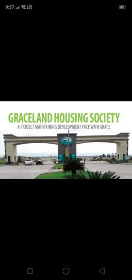 One kanal possessioned plot for sale at Graceland housing Islamabad