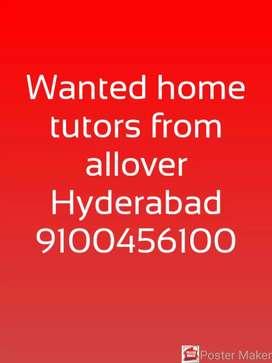 Wanted home tutors