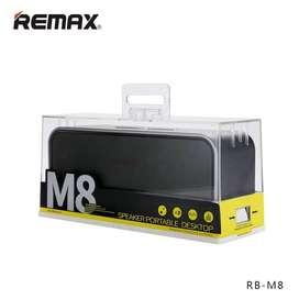 Speaker Bluetooth Portable Dekstop Remax BT M8