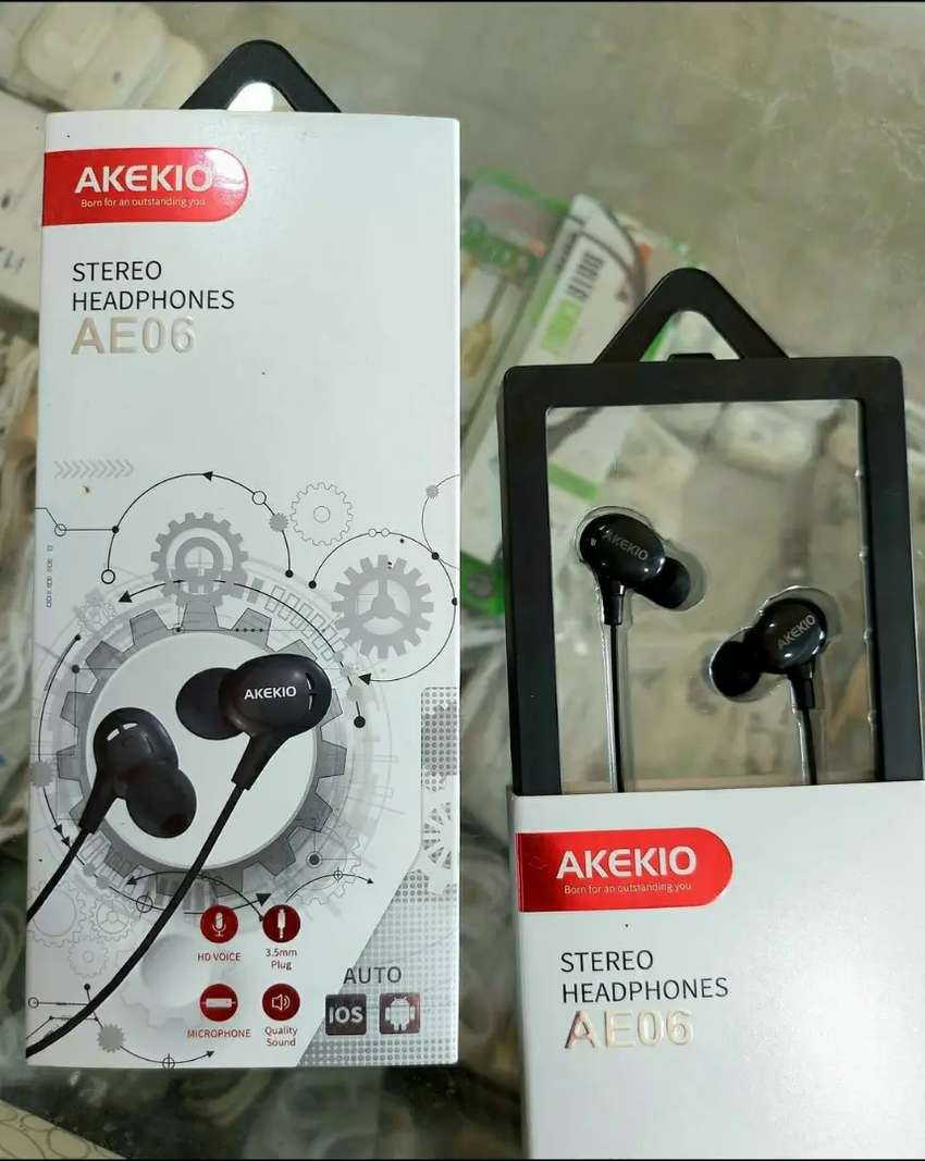 Akekio Stereo Headphones HD Voice Quality Sound 0