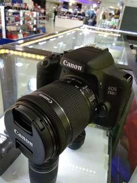 Kamera canon dslr d750 bisa kredit bayar admin sja bisa bwa pulang
