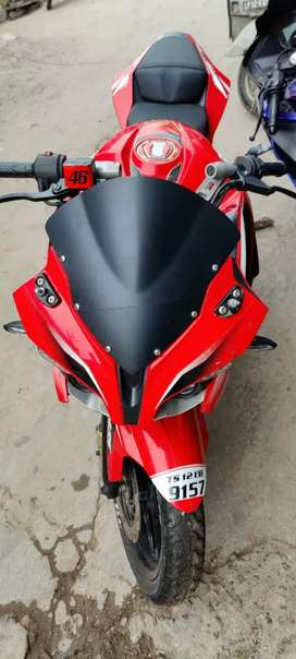 Hi friends I want to sell my pulsar rs200 neat condition