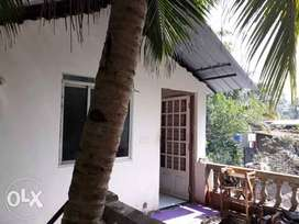One bedroom rooftop flat in Siolim Goa - airy with lots of light