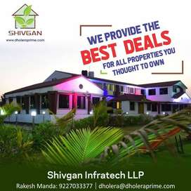 2.4 lakh to 9.6 lakhs - Plots, Land for Sale in Dholera